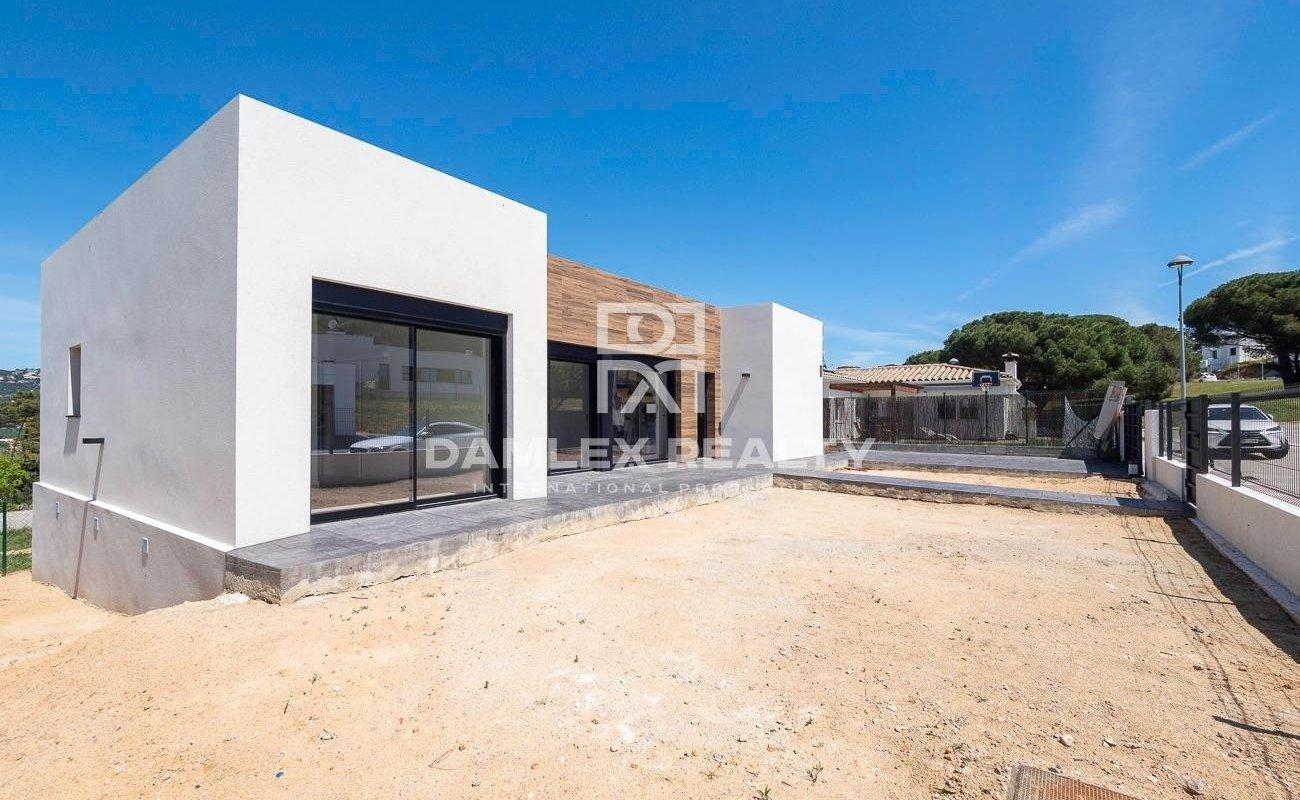 Casa moderna de nueva construcción en Santa Cristina de Aro
