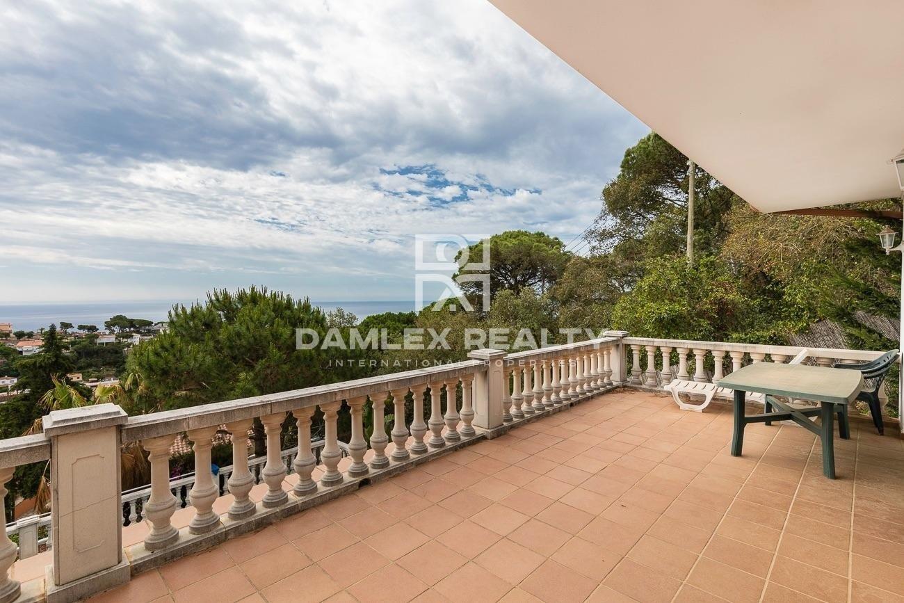 Casa con vistas al mar en Lloret de Mar. Costa Brava